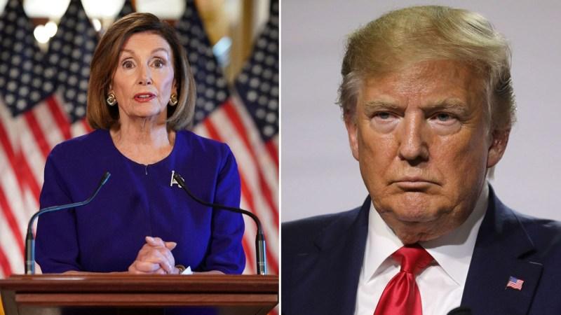 President Trump Writes Letter To Nancy Pelosi