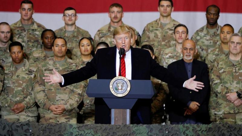President Trump's Remarks During Troop Engagement In Bagram, Afghanistan