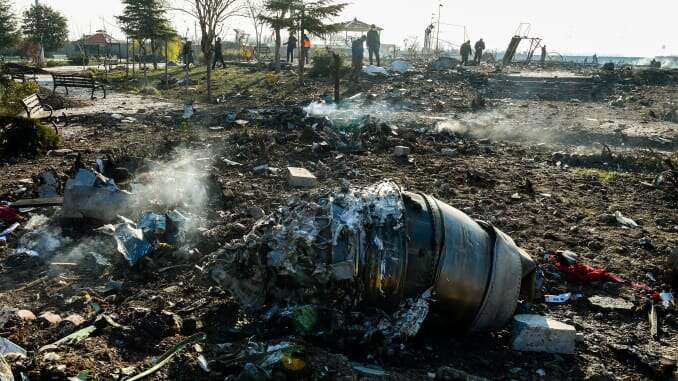 Iran Admits 'Unintentionally' Shooting Down Ukrainian Airliner That Killed 176 People