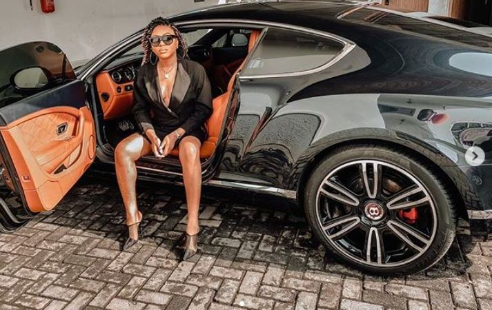 Stephanie Coker Gets A Bentley As 'Push Present'