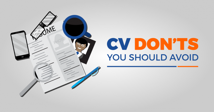 Stop Putting These 5 Things On Your CV When Applying For A Job