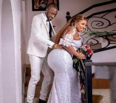 Wedding Photos Of Actress Anita Joseph And Her Husband