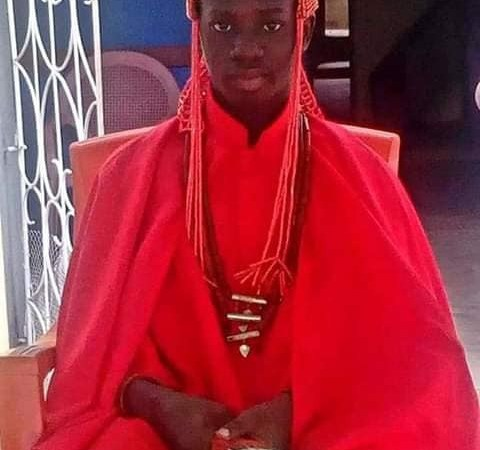 15-year-old Boy Becomes King Following The Death Of His Father In Ondo State