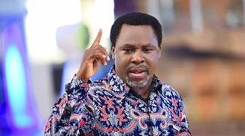 Coronavirus Will Be Over On Friday - Prophet TB Joshua