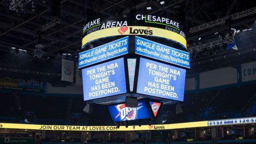 NBA Suspends Season Over Coronavirus