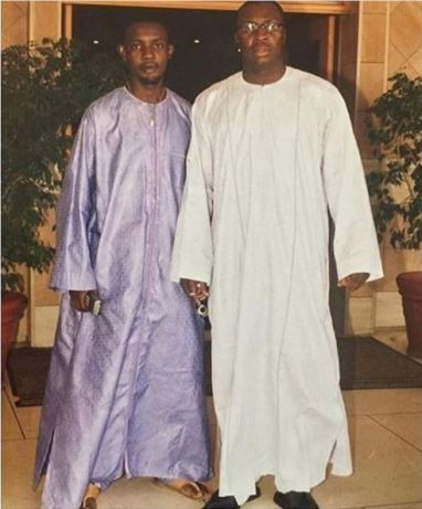 Throwback Photo Of Comedians AY And Ali Baba