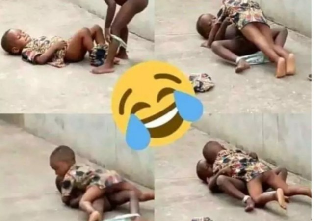 What These Small Children Were Caught Doing Will Surprise You