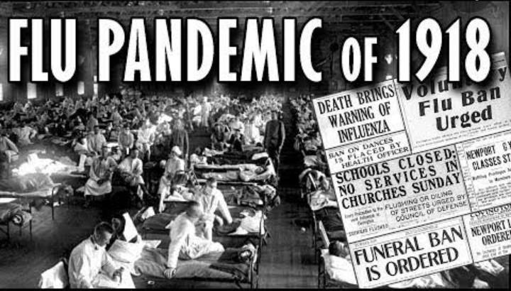 1918 Spanish Flu Pandemic That Killed Over 50 Million Globally