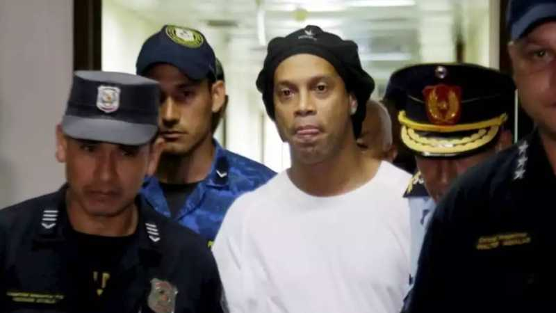 After 32 Days In Prison, Ronaldinho Released