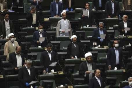 New Iran Parliament Convenes Under Strict Virus Curbs