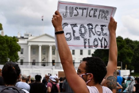 Protests Get To White House Over George Floyd's Death