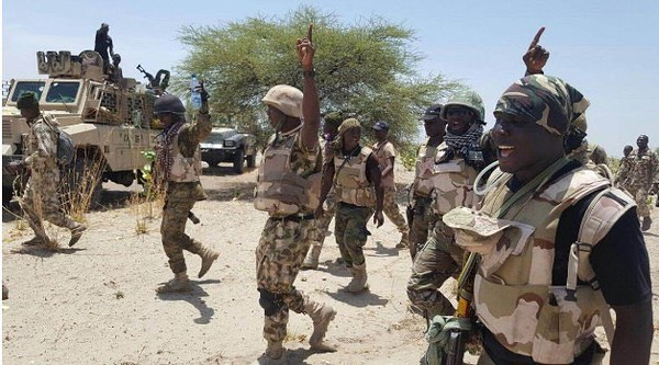 Troops kill 343 terrorists, 153 bandits in counterinsurgency onslaught