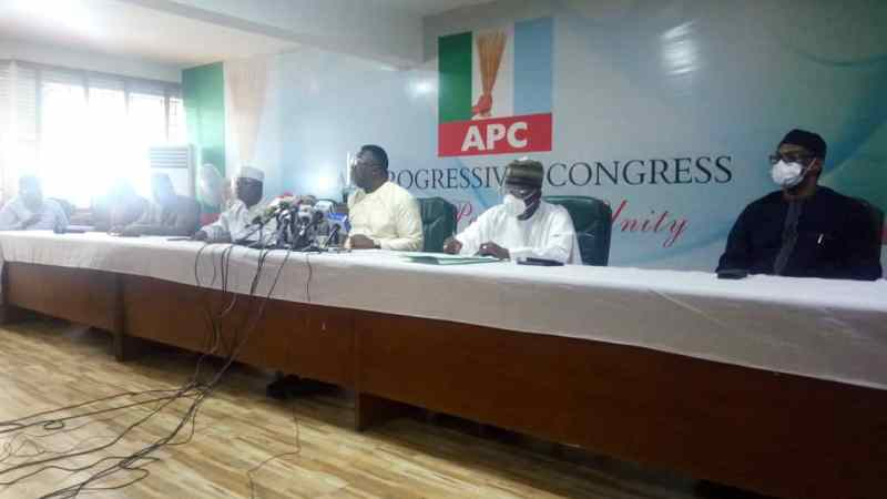 APC NWC Affirms Ajimobi As Acting National Chairman