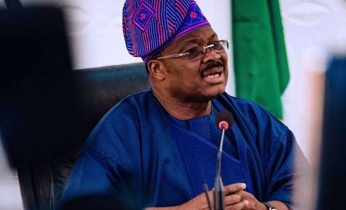 Former Oyo State Gov Ajimobi Buried At His Oluyole Estate Residence