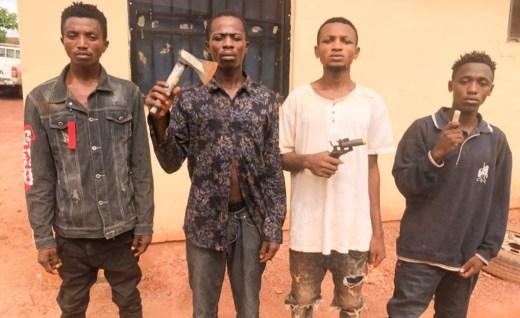 Police Arrest Four For Cultism In Enugu