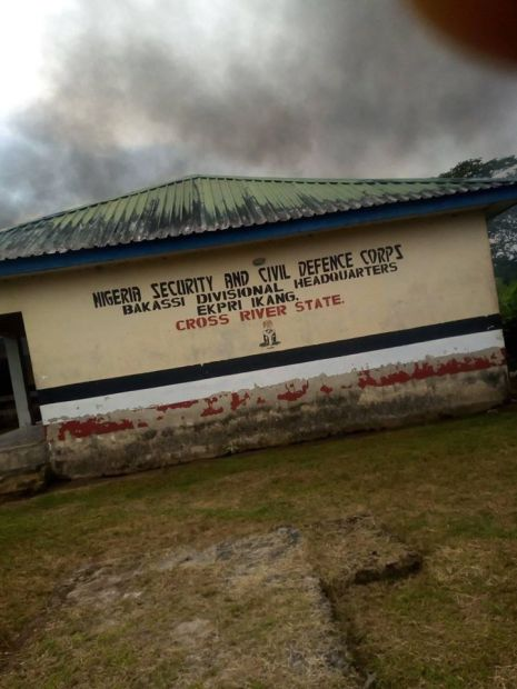 Protests In Calabar As NSCDC Personnel Kills Man, Injure Three Others