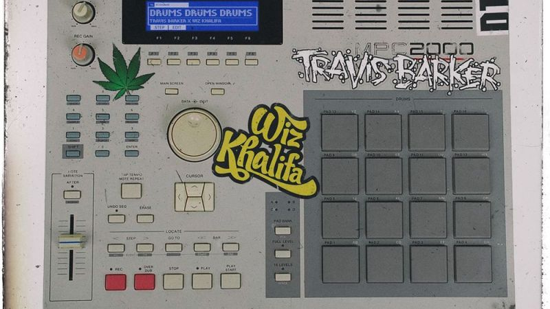 Travis Barker & Wiz Khalifa – Drums Drums Drums