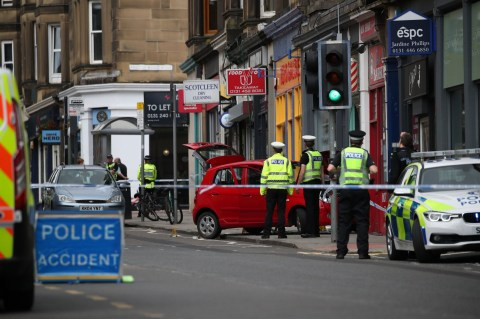3-year-old boy Killed After Car Climbs Pavement And Crashes Into Shop In UK