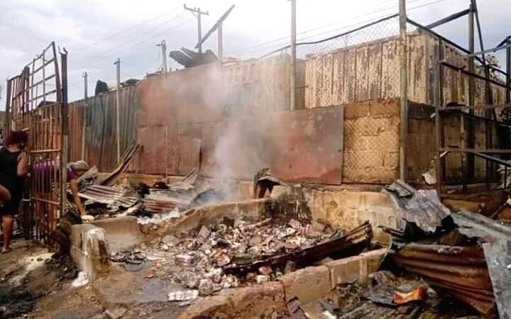 Fire Guts Marian Market Calabar, As Traders Cry Out (Photos)