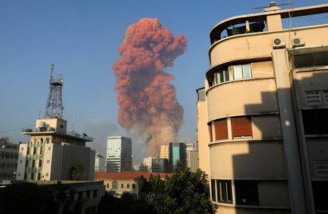 Explosion Rips Through Lebanon's Capital, Beirut, Hundreds Wounded