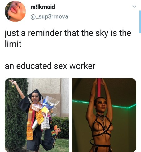 Sex Worker Rejoices As She Graduates, Reveals That She Will Continue With Her Work