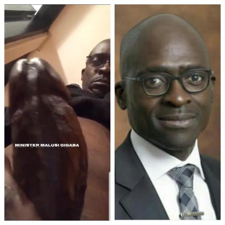 Watch Full Sextape Of Former Finance Minister Makusi Gigaba