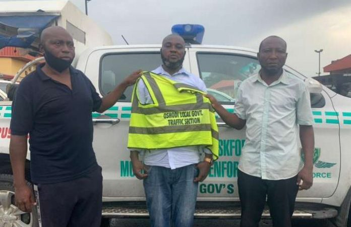 Lagos Taskforce Arrests 3 Suspects For Extorting Motorists