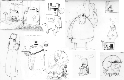 The Urbanites: Sketches
