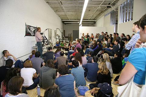 Brooklyn Skillshare bike workshop