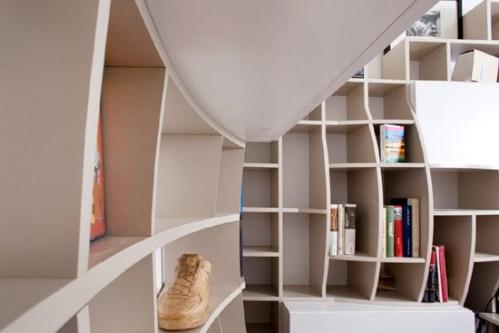 the bookshelf rethought 5 more innovative designs brain