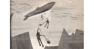 The Man Who Invented the Future: Stunning Vintage Illustrations of Jules Verne's Visionary Imaginings