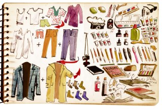 The Lists, To-dos and Illustrated Inventories of Great Artists