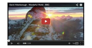 "Sir David Attenborough Narrates Louis Armstrong's ""What a Wonderful World"" to Glorious Glimpses of Nature"