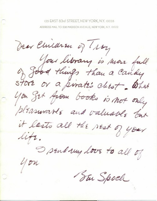 Letters To Children From Cultural Icons On The Love Of Libraries