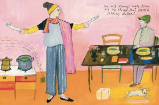 Maira Kalman Illustrates Michael Pollan's Iconic Food Rules