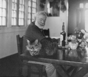 Hemingway Shoots His Cat