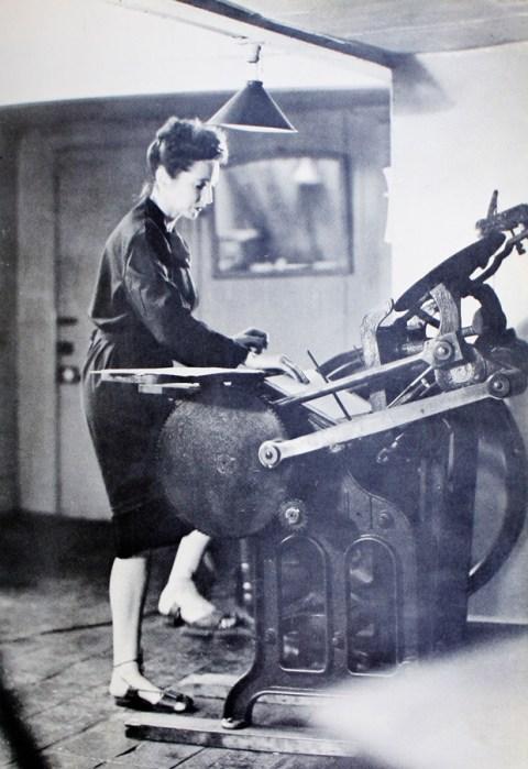 Limited Edition Handmade Letterpress Print Pedal Power