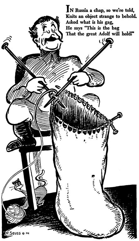 Mrs.D.Books: Dr. Seuss's World War II Political Propaganda
