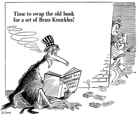 Dr Seusss Wartime Propaganda Cartoons on an swap