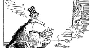 Dr. Seuss's World War II Political Propaganda Cartoons