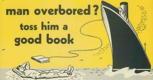 Vintage Ads for Libraries and Reading