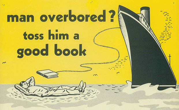 Vintage Posters for Libraries and Reading - Brain Pickings