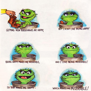 How to Be a Grouch: A Vintage Sesame Street Guide to Grumpiness