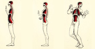 Emotional Anatomy: Stunning Vintage Illustrations of Somatic Consciousness
