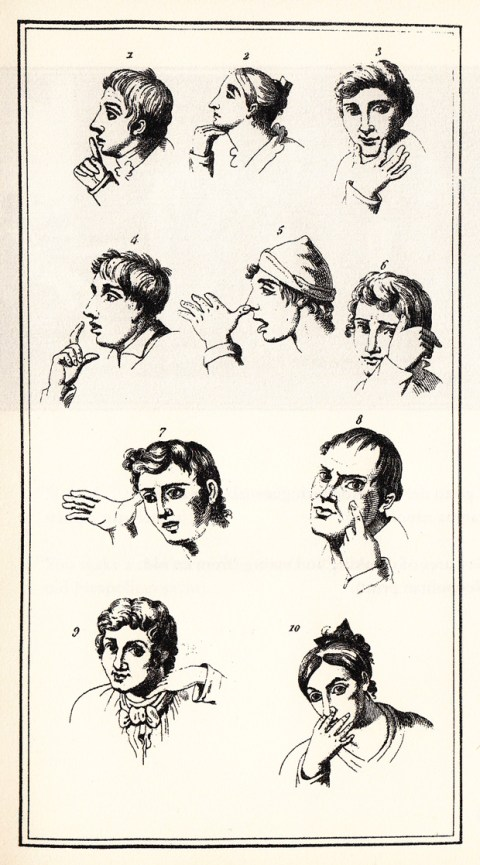 The Fine Art of Italian Hand Gestures: A Vintage Visual Dictionary