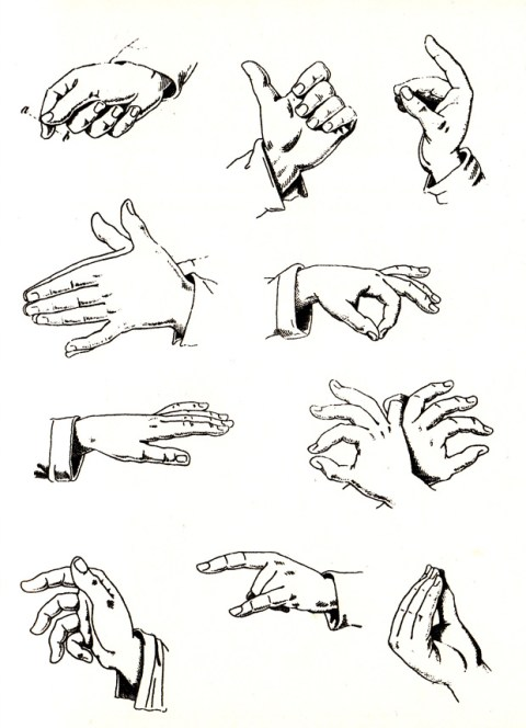 the fine art of italian hand gestures a vintage visual dictionary by bruno munari brain pickings. Black Bedroom Furniture Sets. Home Design Ideas