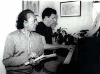 Remembering the Godfather of World Music: Ravi Shankar + Philip Glass, 1990