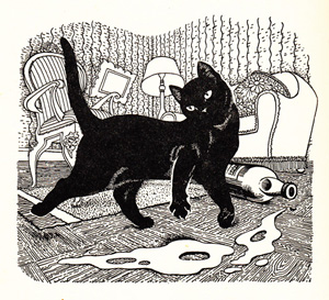 Cats vs. Dogs: A Poem by T. S. Eliot, with Stunning Vintage Illustrations by Dame Eileen Mayo
