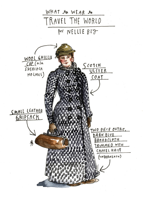 What Girls Are Good For: 20-Year-Old Nellie Bly's 1885