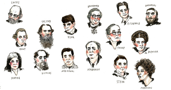Male writers top The Best